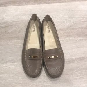 Taupe Michael Kors Loafers (W 10)